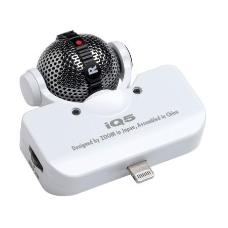 Zoom iQ5 Stereo Microphone for iPhone/iPad