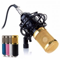 Fzone MB-800 Studio Condenser Mic - Orange