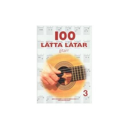 100 lätta låtar gitarr 3