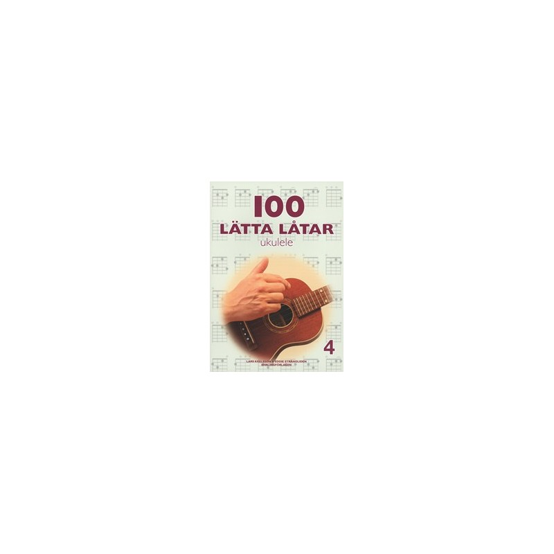 100 lätta låtar ukulele 4