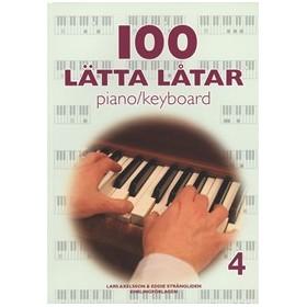 100 lätta låtar piano/keyboard 4