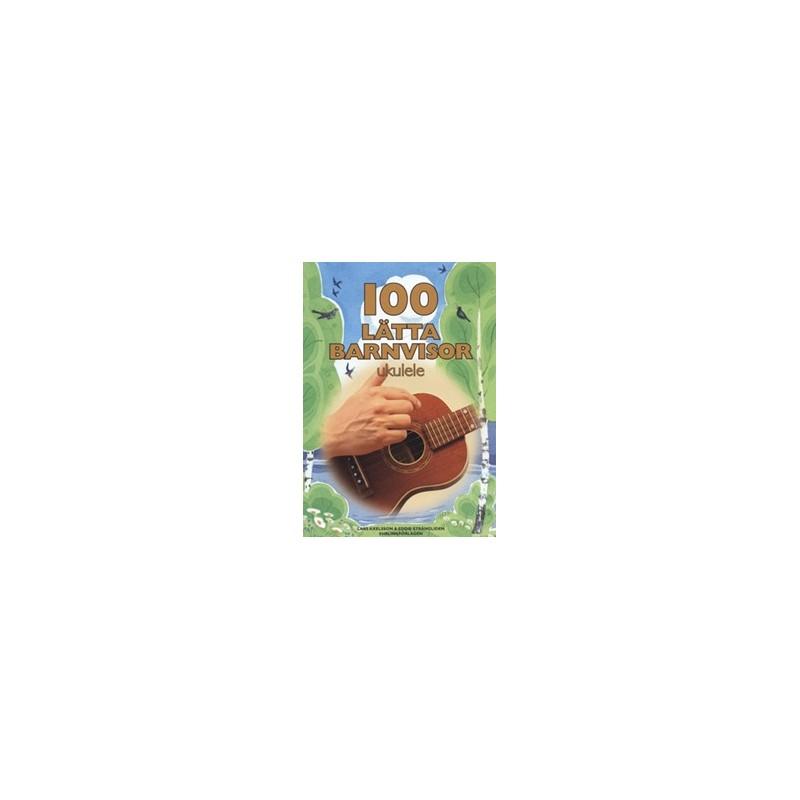 100 lätta barnvisor ukulele