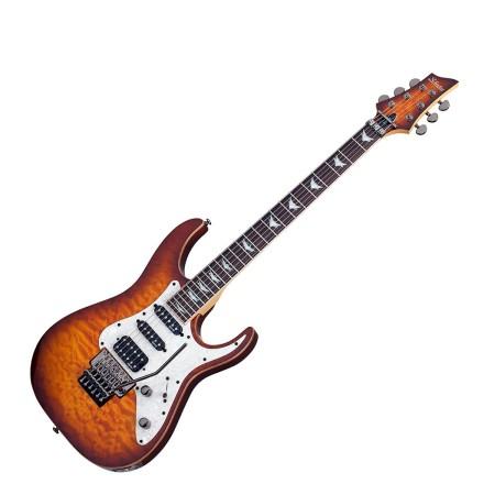 Elgitarr Schecter Banshee-6 Extreme Floyd Rose Vintage Sunburst