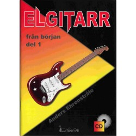 Elgitarr från början del 1, inkl CD