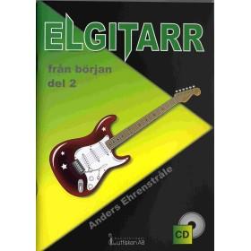 Elgitarr från början del 2, inkl CD