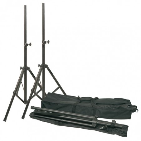 Vonyx stativset - 2 x högtalarstativ med väska
