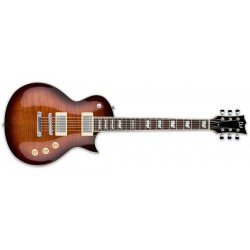 Electric Guitar LTD EC-256FM Dark Brown Sunburst
