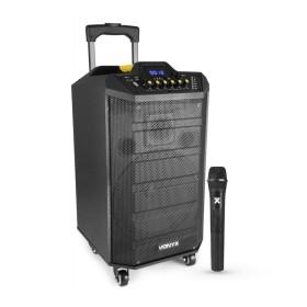 """Vonyx VPS10 Portable System 10"""" BT, MP3, UHF"""