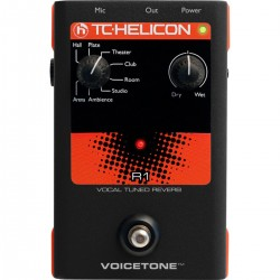 TC Helicon VoiceTone R1 Vocal Tuned Reverb Voice Processor