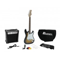 DiMavery EGS-1 Electric Guitar Set - Sunburst