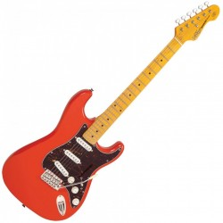 Electric Guitar Vintage V6 Reissued - Firenza Red