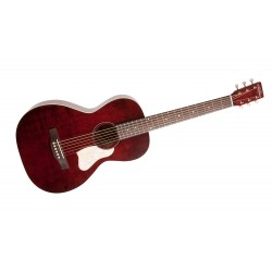 Westerngitarr Art & Lutherie Roadhouse Tennesse Red A/E med bag