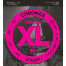 D'Addario ECB81M Chromes