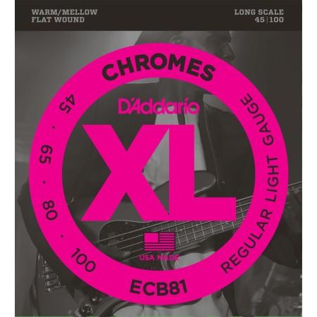 D'Addario ECB81 Chromes