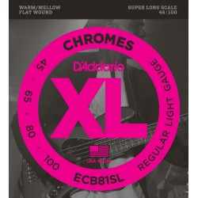 D'Addario ECB81SL Chromes