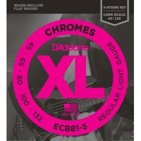 D'Addario ECB81-5 Chromes