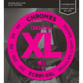 D'Addario ECB81-5SL Chromes