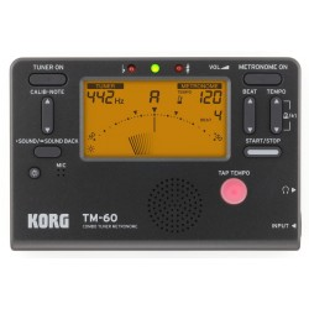 Korg TM60-BK Tuner & Metronome