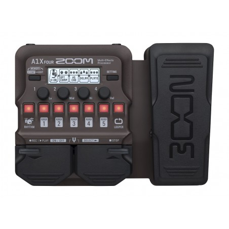 Zoom A1X Four Acoustic Effects Pedal