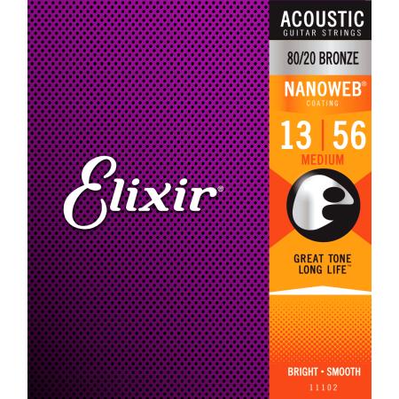 Elixir Nanoweb Medium Acoustic