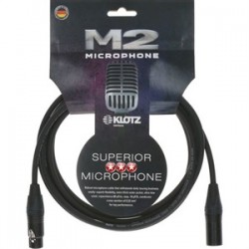 Klotz M2FM Superior Microphone Cable XLR / XLR 3m