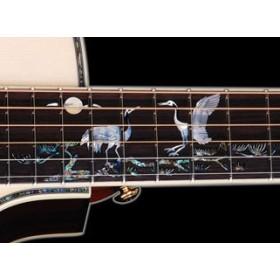 Acoustic Guitar Crafter Crane Birds-Series