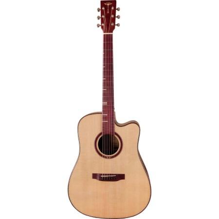 Acoustic Guitar Tyma D-20CE