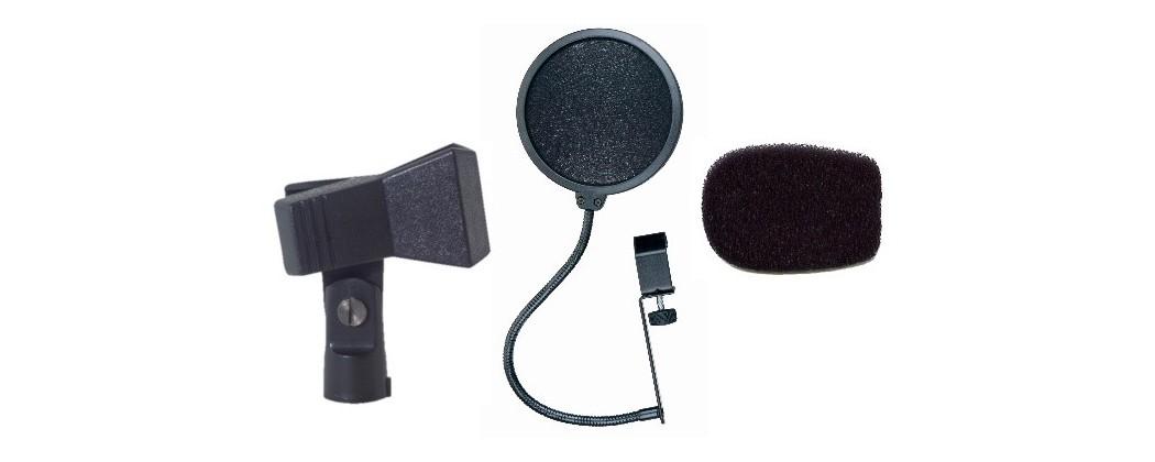 Tillbehör mikrofoner