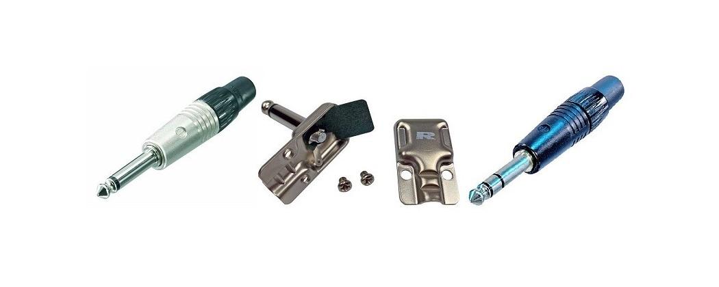 """Jack Connectors (6,3mm - 1/4"""") – Prenics Sweden"""