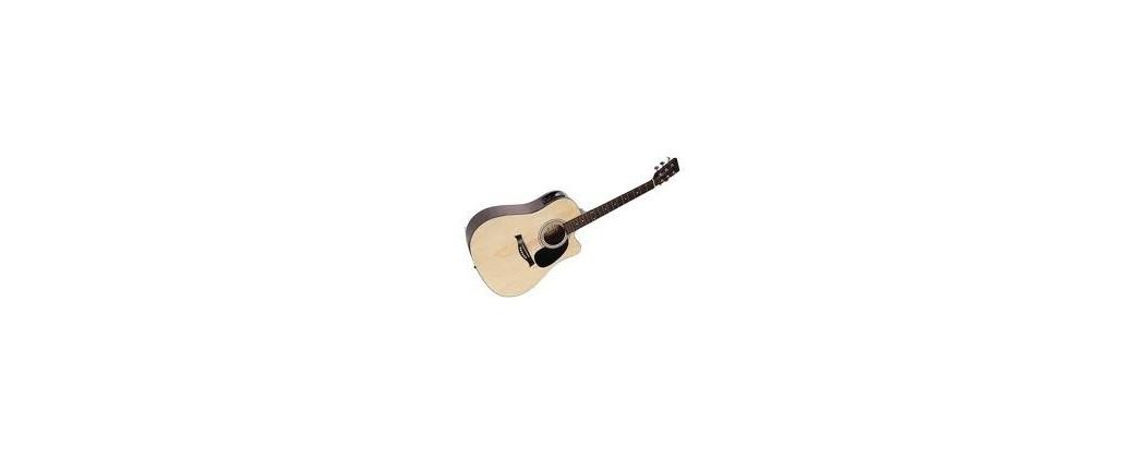 Akustiska stålsträngade gitarrer