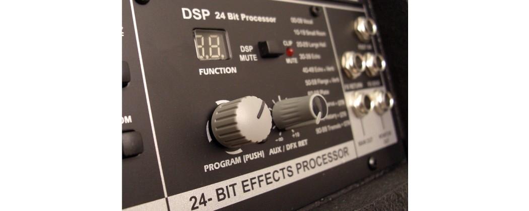 Effekter och signalprocessorer